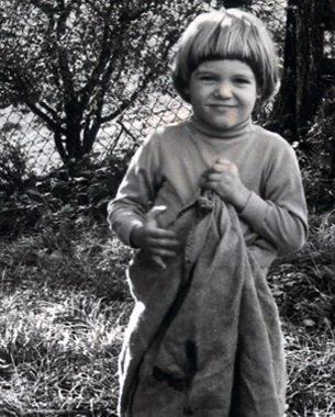 Fotograf Sacha in jungen Jahren