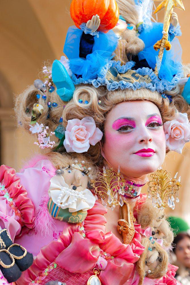 ausgefallenes Karnevalskostüm Venedig