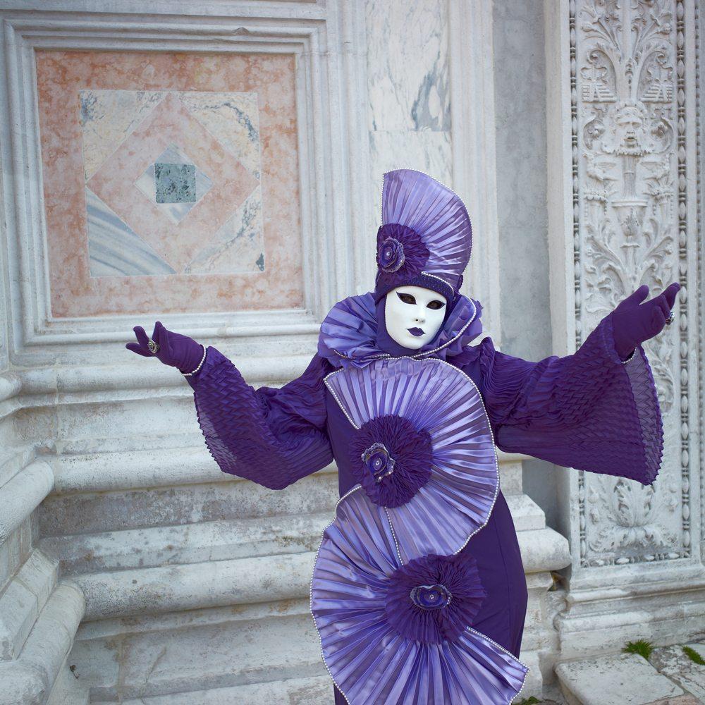 fantastisches Kostüm Venedig