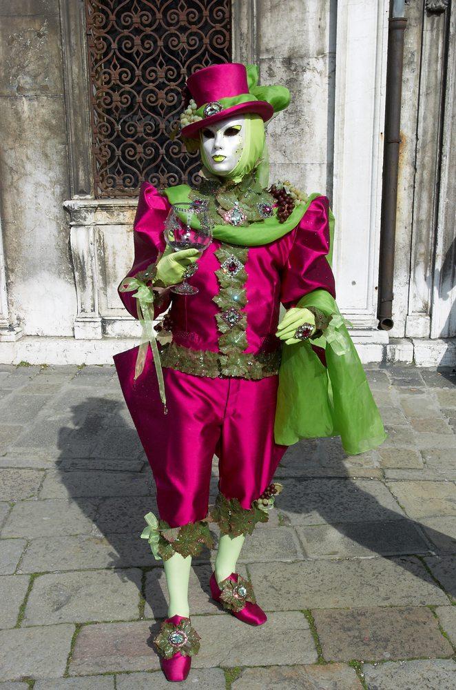einzigartiges Kostüm Venedig
