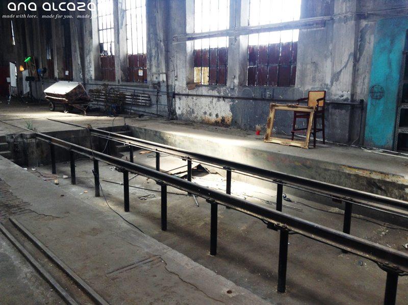 ana alcazar Location alte Schlafwagenfabrik München