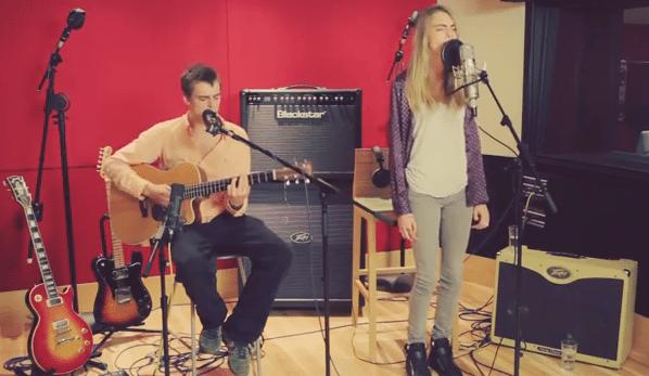 Cara Delevingne & Will Heard im Studio